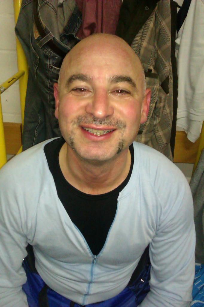 Gianni mit Movember-Schnauz