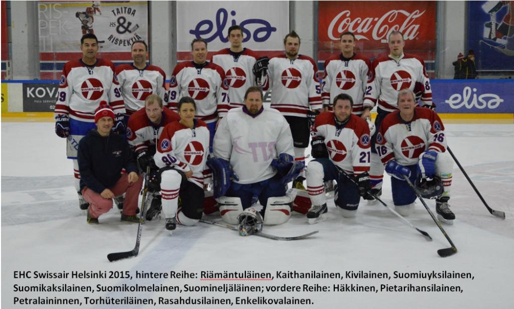 Das finnische Swissair-Team